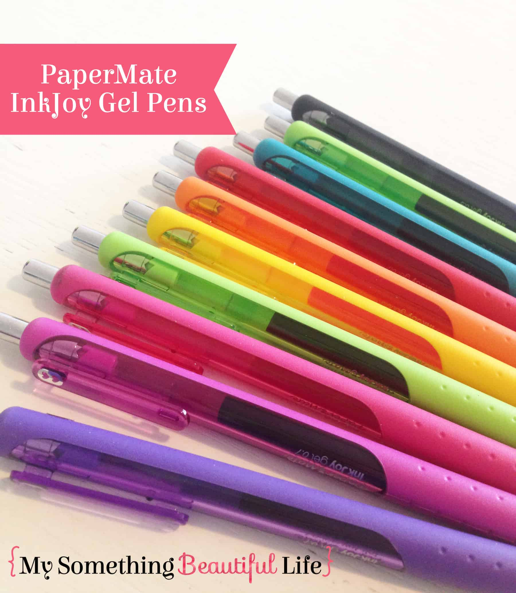 InkJoy Pens are some of the best pens for planning! #mysomethingbeautifullife
